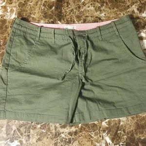 4/$15 Olive Green Lee Shorts size 16M